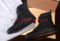 2014 Winter Newest D Brand Designer Classic Black Genuine Leather Women Ankle Boots,Fashion Sneakers,Lace-Up Shoes 35-42 Size
