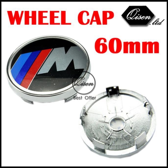 4 X BLACK /// M 60MM CAR WHEEL Hub Center LOGO Caps BADGE EMBLEM Aluminum for M3 M5 X1 X3 X5 X6 E36 E39 E46 E30 E60 E92 #SO227(China (Mainland))