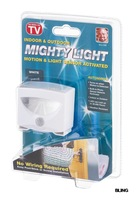 4pcs/lot New Hot Sale Motion & Light Sensor Novelty LED Night Wall Lights Lamp Battery Powered Free Shipping Only $17.99