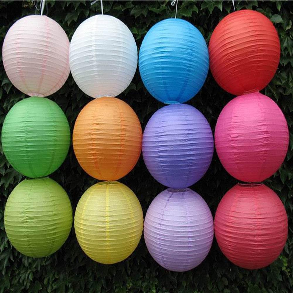 (10pcs/lot) 4''(10cm) Chinese paper lantern lamp festival wedding decoration 12 colors for choosing wedding lantern BB095(China (Mainland))