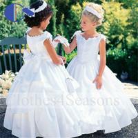 Summer Dress 2014  Floor Length Vestido De Festa Baby Little Kids Clothes Girls Frock Designs Vestido De Festa Infantil