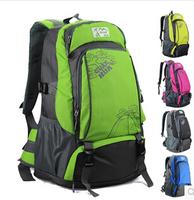 2014 outdoor mountaineering bag backpack female double-shoulder school bag male travel laptop bag backpack