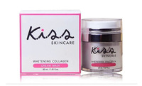 Wholesale,  Thailand KISS SKINCARE whitening collagen cream sleep mask , 20pcs/lot,  free shipping by EMS