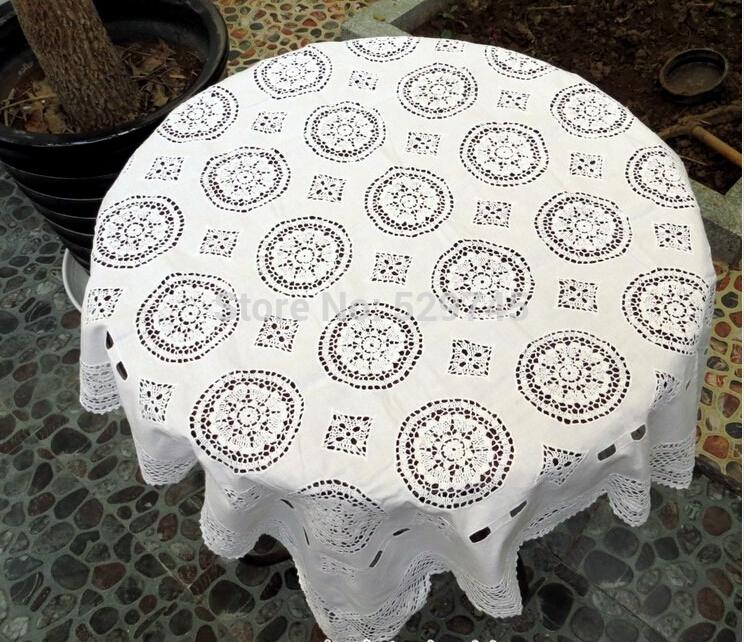 온라인 구매 도매 화이트 광장 식탁보 중국에서 화이트 광장 ...
