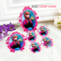 fiatback resin  cabochons resin crafts resin  Frozen  for phone kid's hair decoration 50pcs/lot free shipping