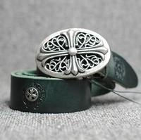 European rock punk belt For Men's/women,Real  Genuine Leather Belts 5colors  Vintage belt Metal decoration fashion belt