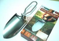 Stainless steel small shovel Garden shovel Portable folding shovel for outdoor sports fishing fishing gear Free shipping