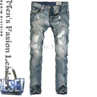 W29-W40#Y097,New 2014 True Jeans Men,Italian Famous Brand Men's Jeans,Large Size Perfume Men Fashion Designer Ripped Denim Jeans