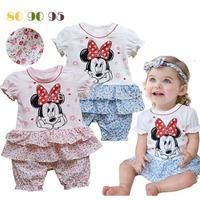 Cute baby girl lovely clothing set, Newborn cotton baby clothes baby girl clothes Toddler Sets for infant baby girls,3 Sets/Lot!