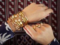 YRB1 2014 most popular jewelry Hot Hight quality bangle & bracelet jewlry cuff bangle best selling hip hop Titian cone Bracelet