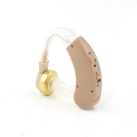 New AXON Behind Ear style Hearing Aid sound voice amplifier ear Hearing Aids aparelho auditivo V-163