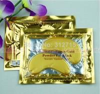 Cosmetics Crystal Collagen Gold Powder Eye Mask whitening Filling water anti-aging protect skin to taste 300pcs/lot