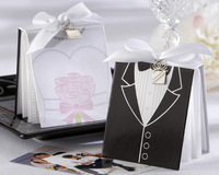 Free Shipping Weddng favors 100 pcs Bride and Groom Photo Album Party gifts for Guest