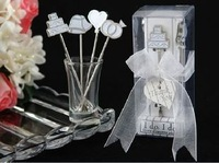 I Do, I Do Hors d'oeuvre Picks Wedding Favors120SET/LOT bridal shower Guess gift Free shipping