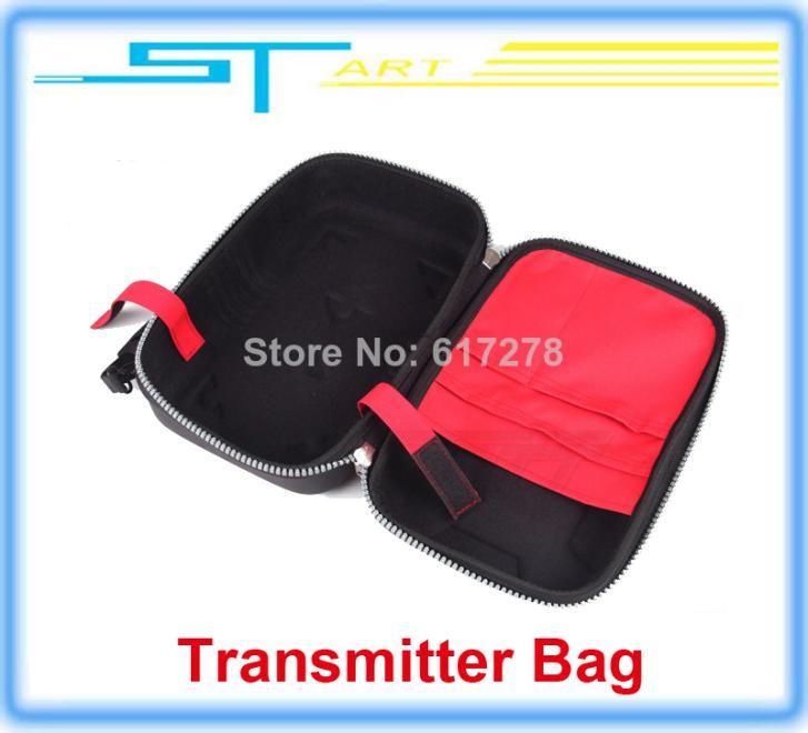 10pcs/lot Fashion Transmitter Bag Case For JR Futaba FlySky FS-T6 FS-TH9X Radio Controller RC drone quadcopter Free shi electric(China (Mainland))
