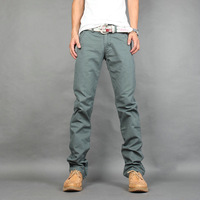 New Fashion! Rivet Casual Autumn Spring Winter Men Slim Jeans Trousers straight  long Pants 8662