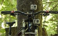 Free Shipping Bike HANDLEBAR SEATPOST POLE MOUNT Sports Camera Handlebar Seatpost Rack Mount for Gopro Hero 3+ 3 2 1