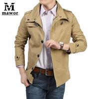 Men Casual Jacket outdoor Jackets For Men,Fashion Spring Autumn Cotton Slim Men Coat Men Clothes Size M-XXXL Free Shipping