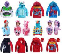 Retail Children's Coat boys Bighorn cattle Buzz Lightyear hoodies jackets Kids cartoon Clothes baby outerwear for Spring Autumn