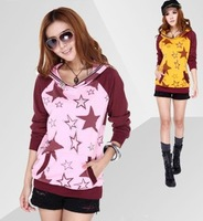 free shipping !  women's big size thick clothing XXXL female autumn winnter velet sweatshirt girl's casual hoodies