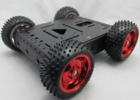 4 wd all-metal motor raider buggies All aluminum alloy intelligent car chassis big torque handling robot