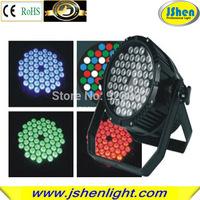 China Golden supplier! hot  selling ! 54*3w  rgb 3in1  led par light