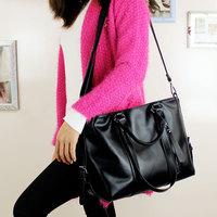 Free shipping 2014 hot selling Women's trend leather messenger bags lady handbag fashion casual shoulder cross-body bag big bags