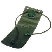 Outdoor Sports Water Bladder Bag w/ Straw - Green (3L)