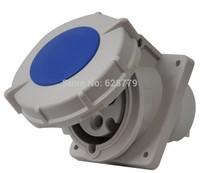 Industrial socket T-4232B panel mounting straight socket IP67