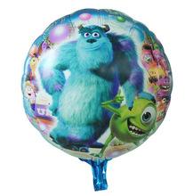 Wholesale 10pcs/lot 18inch Monsters University Balloon Birthday Foil Balloons Monsters University Inflatable Ballon Supplies(China (Mainland))