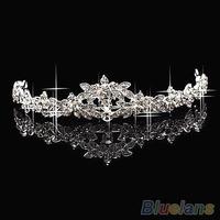 HOT Elegant Sparkly Crystal Rhinestone Crown Tiara Wedding Prom Bride's Headband wedding headband 063W