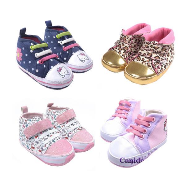 arrivo cartoon tela 23 colori bambina scarpe scarpe da bambino walker prima pattini di bambino prewalker bambino calzature