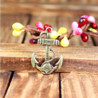 142 anchor r design diy necklace bracelet component  20pcs/lot 28*19MM pendants alloy  lucky Charms  Jewelry Findings