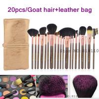 Champaign gold 20Pcs Professional Makeup Brushes Set & Kits facial  20 pcs makeup Cosmetic Accessories set  Make up  Brush Kit