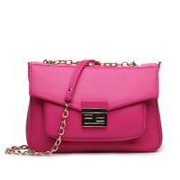 Women's Vintage bags handbag Candy color design Guaranteed 100% Genuine Leather Women Bag messenger bags women leather handbags
