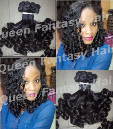 Queen Fantasy Hair Grade6A 3 #1b QF-weft-120892