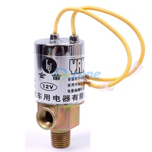 "1/4"" Metal Car Train Truck Air Horn Electric Solenoid Valve Heavy Duty 12V F/CAR#58405(China (Mainland))"
