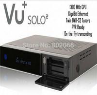 2014 Vu+Solo2 Original Newest Hot Sale Product Vu+Solo2, Vu Solo, Vu+ Solo 2 Full HD DVB-S2 Twin Linux HDTV PVR Ready