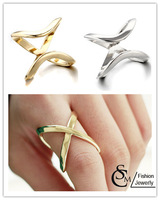 New Fashion jewelry hollow flower finger ring set for women girl lovers' gift wholesale