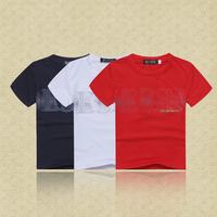 Retail   Brand  2014  New  summer  fashion  children's  T-shirt  letter  pattern  shirt short  sleeve  boy's shirt free shipping