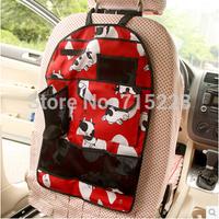 Automobile child seats an kick pad Multifunction pockets