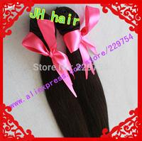 Big sale!100% Human Hair Brazilian Virgin Remy Hair Natural Color 100g/pcs 4pcs Lot  mixd length in stock Free shipping