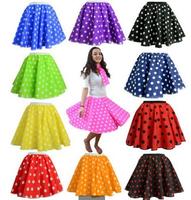 2014 dot skirt party rock era dance skirts skirt Polka Dot skirt free shipping