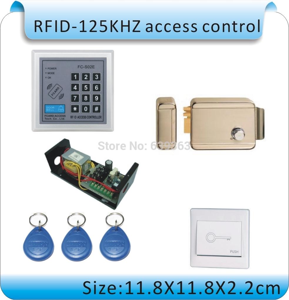 Система контроля доступа ZOCO DIY RFID 125 + /+ power + 1 + 10 T2 система контроля доступа n a diy rfid k2000