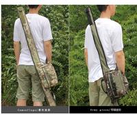 New Arrivel ! fishing rod bag  1.25m multi fishing bags reel bag tackle bag together 5 color choose