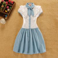 women summer dresses 2014 desigual casual vestidos  clothing vestido de festa party dress short sleeve roupas femininas