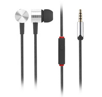 Xiaomi In Ear Soft Plugs Fabric Braided Cable Earphone Headphone Earpods For Xiaomi Mi2 M3