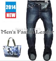 29-40#L34#Blue#528,New 2014 Italian Disel Brand Men's Jeans,Fashion Designer Large Size Skinny Perfume Ture Denim Jeans Men