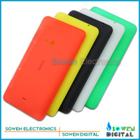 5pcs/lot Original new Back battery cover housing with side button sets for Nokia lumia 625 N625,black,green,yellow,red,white