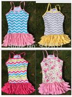 girls summer chevron dress super hot